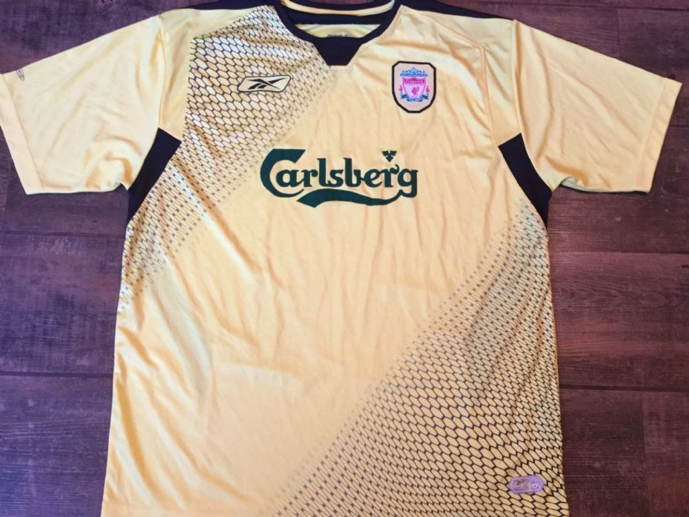 Global Classic Football Shirts | 2004 Liverpool Vintage Old Jerseys